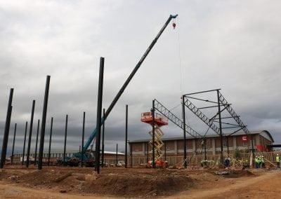 Nungu Industrial Park D Unit Construction - Wide