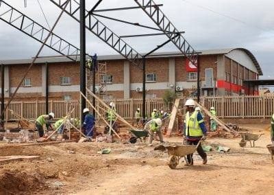 Nungu Industrial Park D Unit Construction - Workers