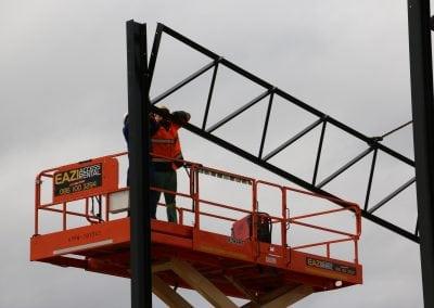 Nungu Industrial Park D Unit Construction - Lift
